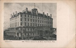 Perkins' Institute for the Blind Postcard