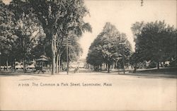 The Common & Park Street Postcard