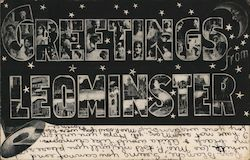 Greetings from Leominster Postcard