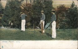 West Point Golfing Postcard