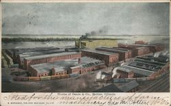 Factory works of Deere and Co Postcard