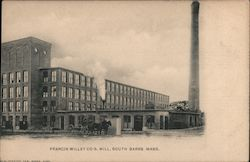 Francis Willey Co Mill Postcard