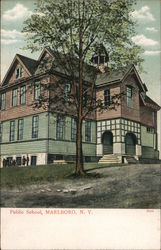Public School New York Postcard