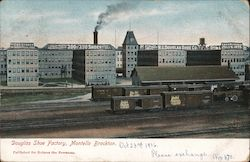 Douglas Shoe factory, Montello Postcard