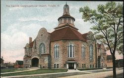 The Central Congregational Church Postcard