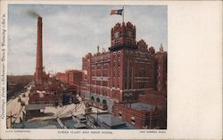 Power plant and Brew House-Anheuser Busch Postcard