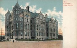 Court House Kansas City MO Postcard