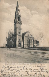 Independence Ave Methodist Episcopal Church Postcard