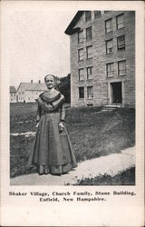Shaker Village, Church Family, Stone Building Postcard