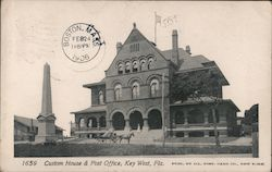 Custom House & Post Office Postcard