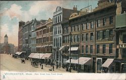 Main Street from Front Street Postcard