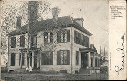 Residence of Governor William Henry Harrison, (1804) Postcard