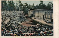 Greek Theatre, University of California Postcard