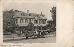 Gray Gables with horse cart Postcard