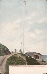 Wireless Telegraph Station Postcard