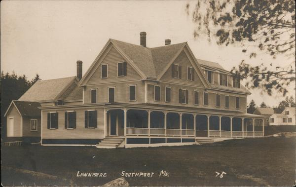 Lawnmere Inn Southport Maine