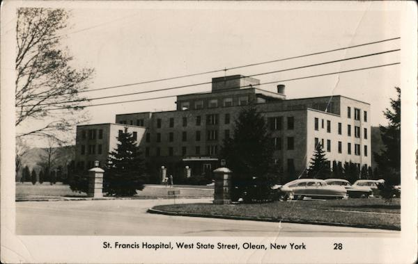 St. Francis Hospital, West State Street, Olean, New York