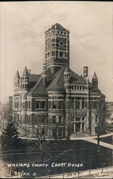 Williams County Court House Bryan Ohio