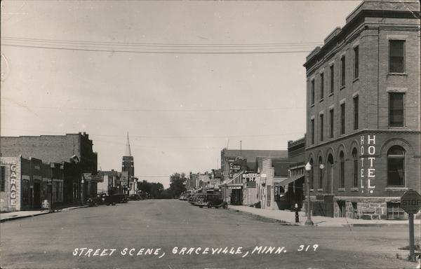 Street Scene Graceville Minnesota