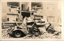 Morrison Apartments - Long Beach Earthquake, 1933 Postcard