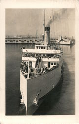 S.S. Catalina Postcard
