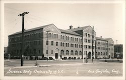 Science Building, University of Southern California Postcard