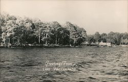 Greetings From Lake Waccamaw, NC Postcard