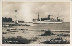 SS Ilmatar, Finland Steamship Co. Ltd. Postcard