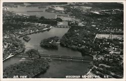 Air View of Wisconsin Rapids