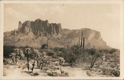 Superstition Mountain Postcard