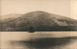 Pleasant Mountain Moose Pond Postcard
