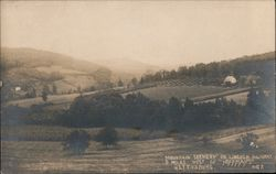 Mountain Scenery on Lincoln Highway, 5 Miles West of Hoffman's Postcard
