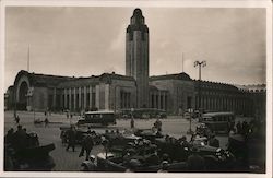 Helsinki Central Station Postcard