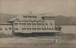 Large Hotel, Probably New Hampshire Postcard