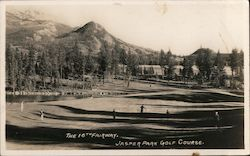 16th Fairway, Jasper Park Golf Course Postcard