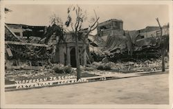 Jeefferson Jr. School, Earthquake Postcard