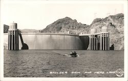Boulder Dam and Mead Lake