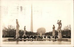 Statuary - Constitutional Mall, N.Y.W.F. 1939 Postcard