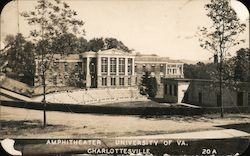 Amphitheater, University of Virginia Postcard