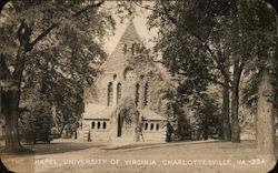 The Chapel, University of Virginia Postcard