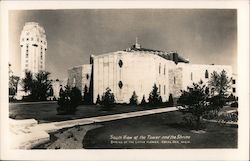 South View of Tower and Shrine of the Little Flower Postcard