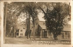 St. Peter's Anglican Church Postcard