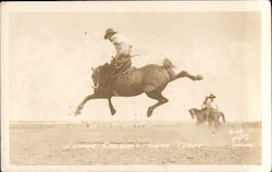 Junior Colwell Riding 'Tubby Postcard