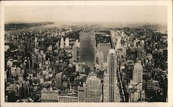 North View from the Empire State Building Postcard