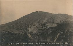 Cone of Mt. Washington from Boott Spur Trail Postcard