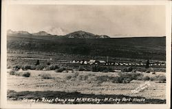Savage River Camp and Mt. McKinley Postcard