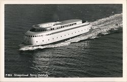 "Streamlined Ferry ""Kalahala"""