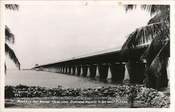 Knights Key Bridge Postcard