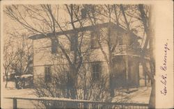 Parsonage Postcard