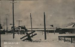 Historic Snowstorm, May 1st 1911 Postcard